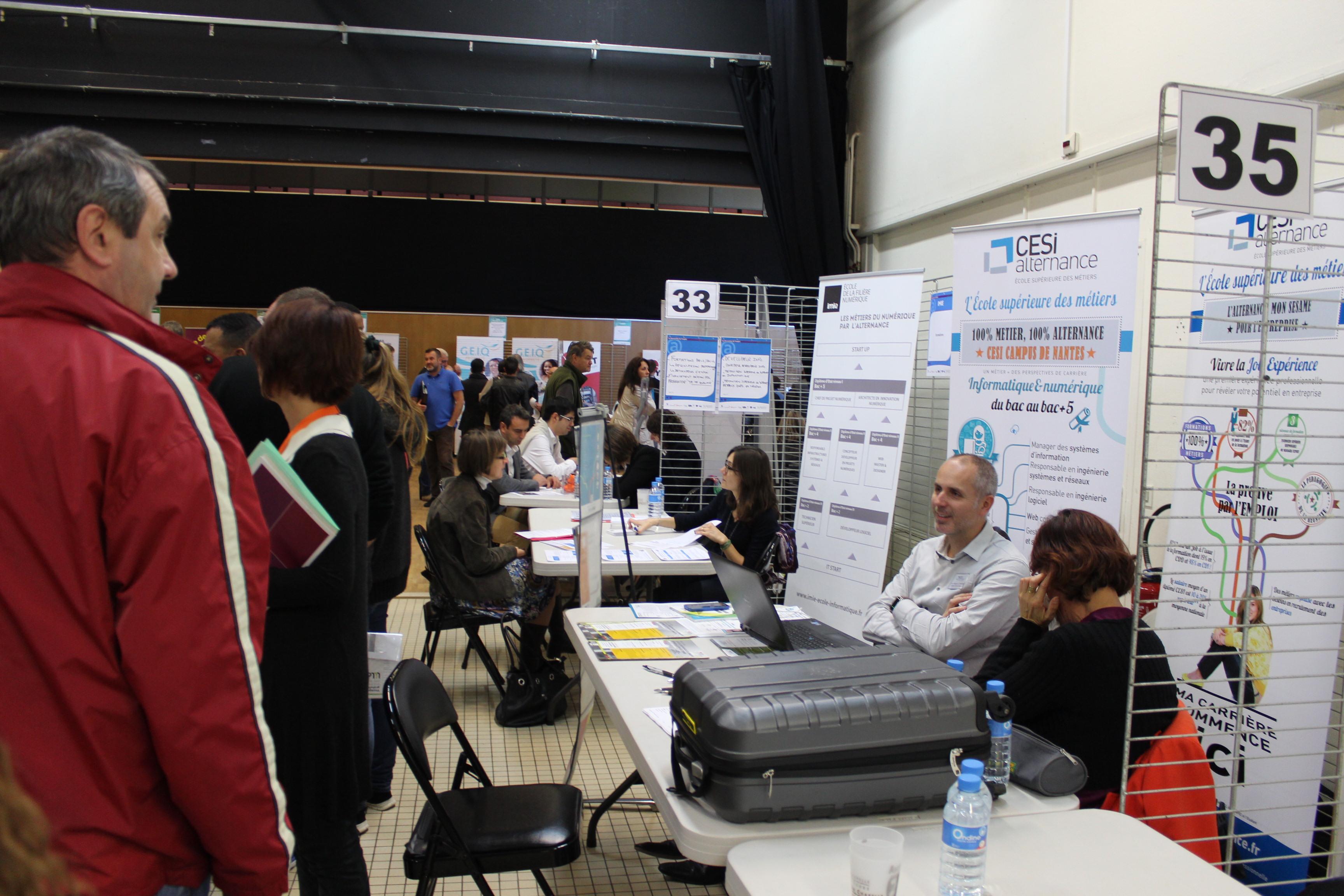 Photo des Rencontres de l'emploi 2015
